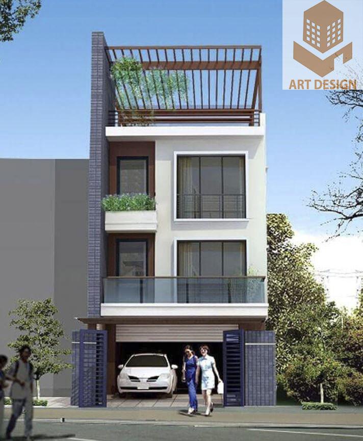 thiết kế nhà 3 tầng